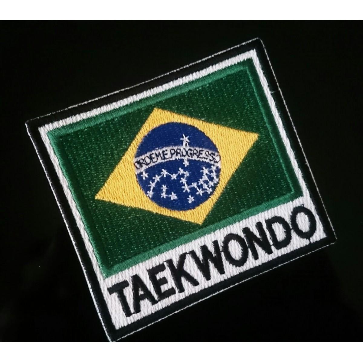 PATH BORDADO  BRASIL TAEKWONDO