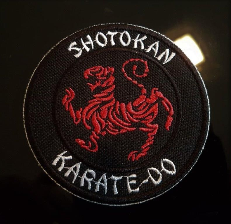PATH BORDADO  KARATE SHOTOKAN 5