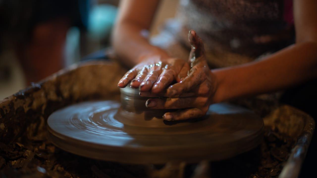 Aula de Cerâmica