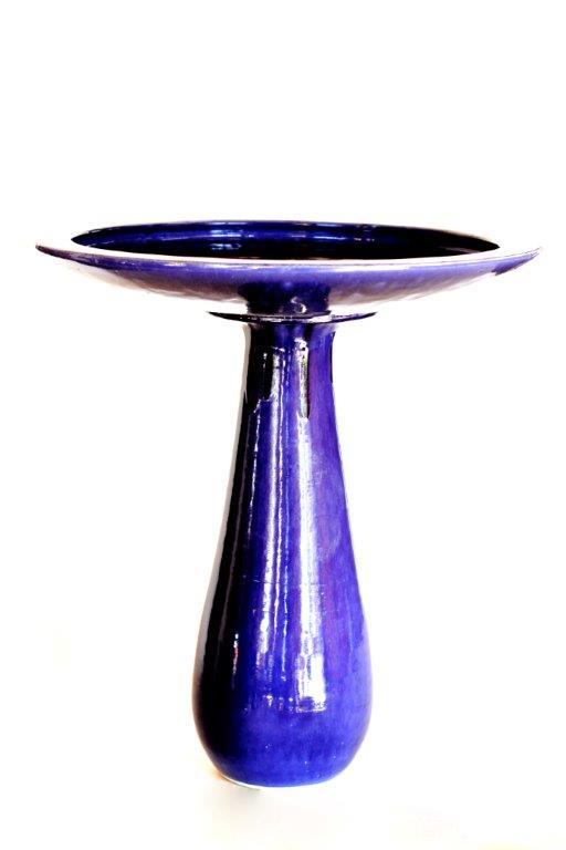 Piscina de Passarinhos Azul Cobalto