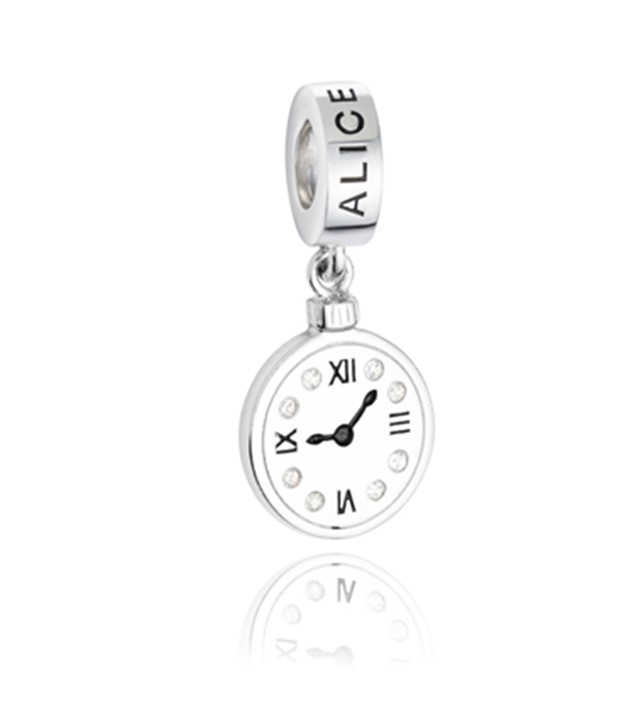 Berloque Alice no País das Maravilhas - Relógio