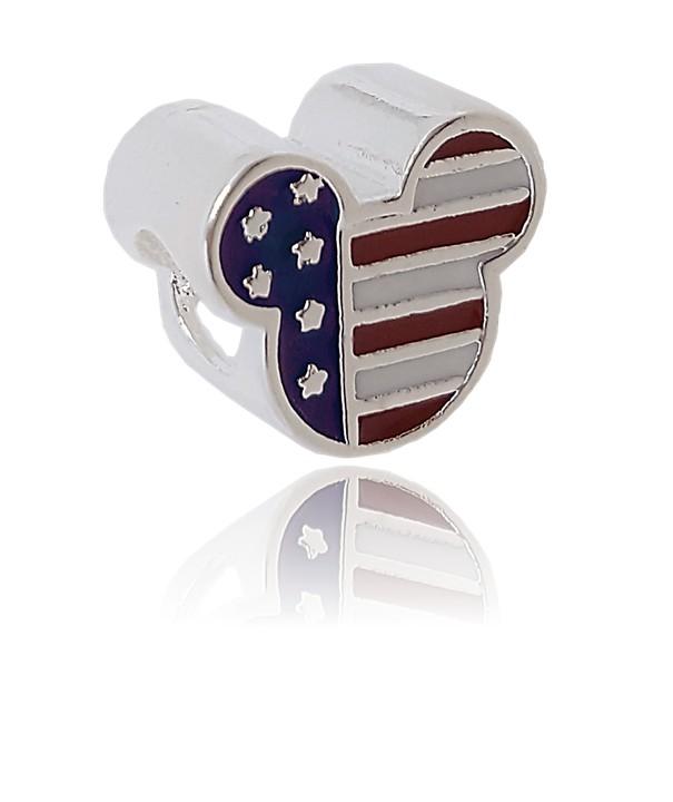 Berloque Mickey Esmaltado - USA
