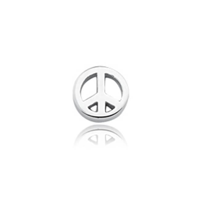 Mini Charm Paz e Amor