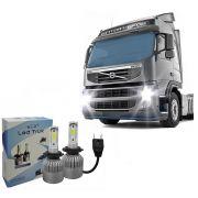 Kit Lampada LED Truk 6000K 12V 24V H1 H3 H7 H8 H9 H11 H16 H27 HB3 HB4