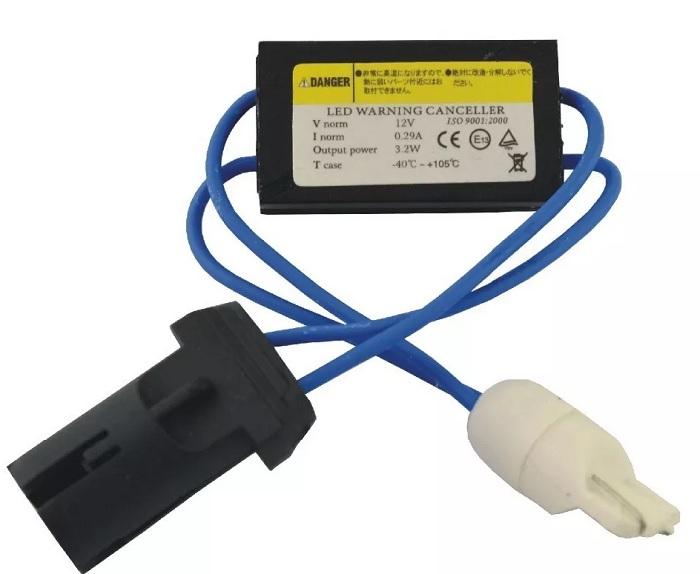 Canceller T10 Led Pingo Jetta Bravo Punto Resistor Can