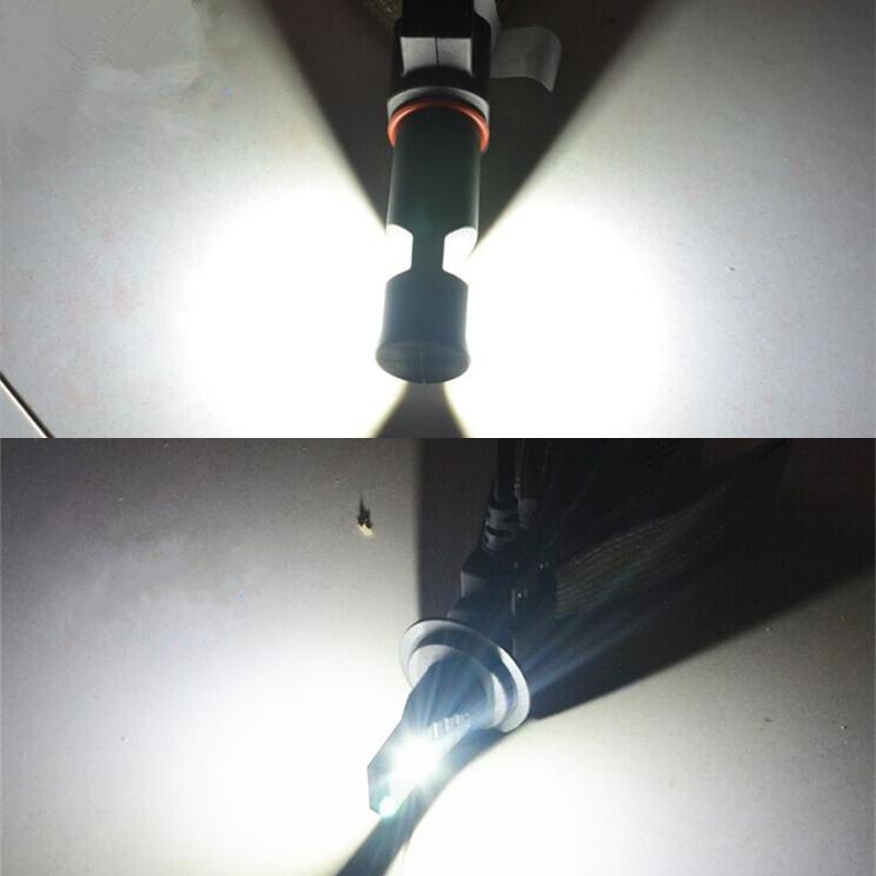 Kit Par Lâmpada Led Farol 7S 3200 Lúmens H1 H3 H7 H8 H9 H11 H16 H27 HB3 HB4