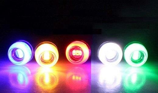 Lâmpada LED DRL 3W LED 5630 Rosca Luz Diurna Day Running Lights