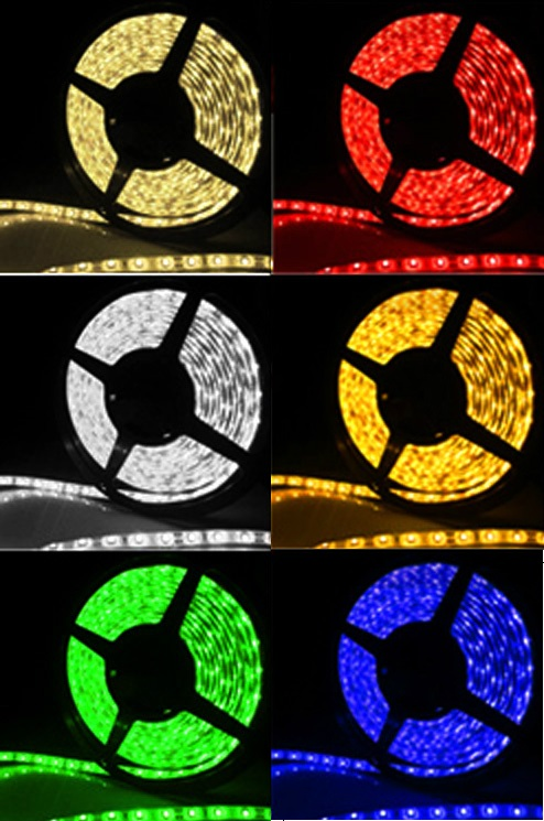 Fita Led RGB 5050 Rolo 5m 300 Leds