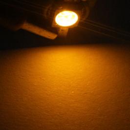 Lâmpada B8.5 1 Led SMD Painel Ambar