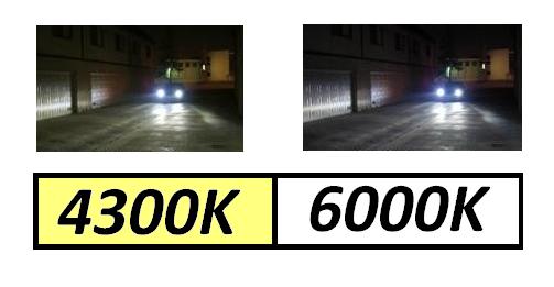 Lâmpada Bi Xenon H4-3 4300k