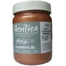 Acrílica Corfix 250ml - Iridescente