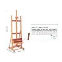 Cavalete Pintura Estúdio - Trident 12.220