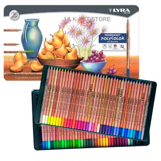 Lápis Polycolor Rembradt Lyra com 72 Cores
