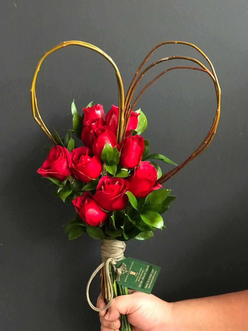 Especial dia dos namorados - Bouquet Coração