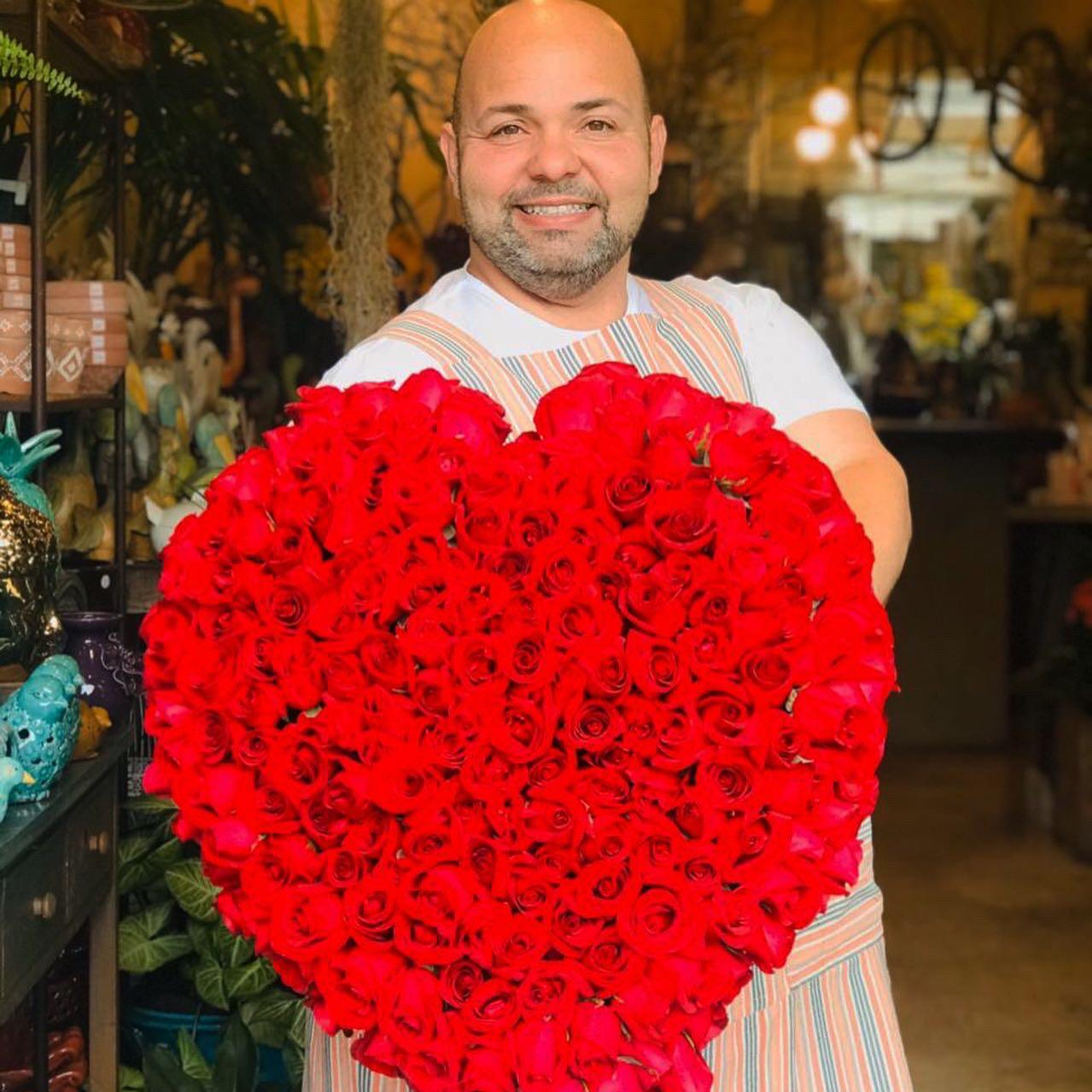 Especial dia dos Namorados - Coração gigante
