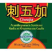 Ciwujia - Acanthopanacis Senticosi Radix 350mg 60 comprimidos - GINSENG SIBERIANO EM CÁPSULAS - Panizza