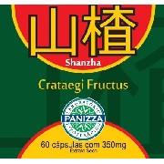 SHANZHA - Crataegi Fructus 350mg 60 cápsulas - CRATAEGUS EM CÁPSULAS - Panizza