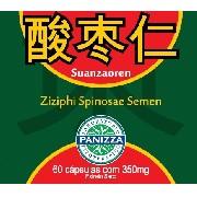 SUANZAOREN - Ziziphi Spinosae Semen 350mg (puro) 60 cápsulas Panizza