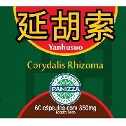 YUAN HU SUO - Corydalis Rhizoma 350mg 60 cápsulas Panizza