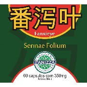 Fan Xie Ye (Sennae folium) 350mg 60 cápsulas -  SENE FOLHAS EM CÁPSULAS - Panizza