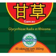 GANCAO (Glicirrhizae radix) 350mg 60 cápsulas - ALCAÇUZ EM CÁPSULAS - Panizza