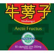 NIU BANG ZI (Arctium Lapa) 350mg 60 cápsulas - BARDANA EM CÁPSULAS - Panizza
