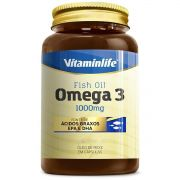 Omega 3 1000mg Óleo de Peixe em Cápsulas 120 softgels