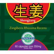 Sheng Jiang 350mg 60 cápsulas - GENGIBRE EM CÁPSULAS - Panizza