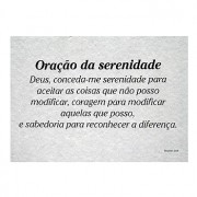 POSTER ORACAO DA SERENIDADE PB-9072