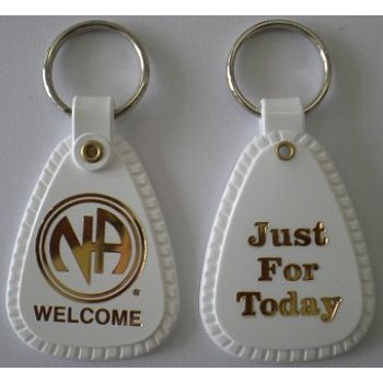 KEYTAG WHITE WELCOME EN-4100