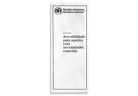 ACESSIBILIDADE PARA AQUELES COM NECESSIDADES ESPECIAIS PB-3126