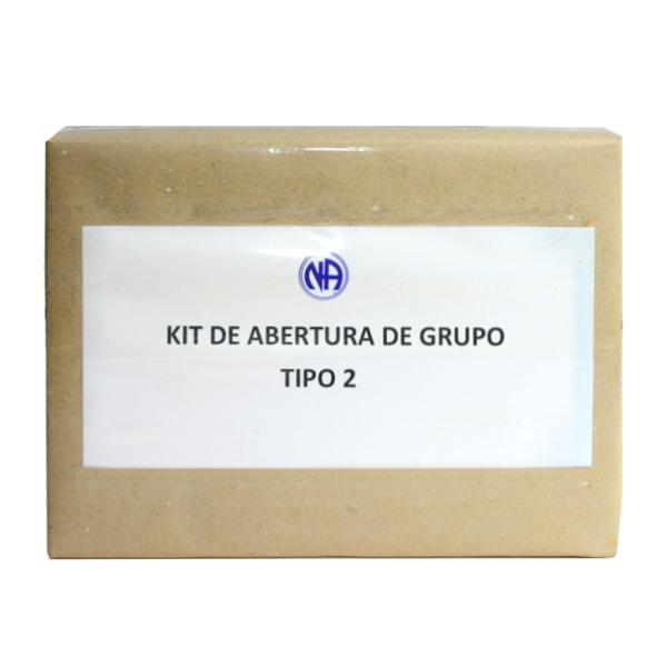 KIT DE ABERTURA DE GRUPO TIPO 2  BR-0005