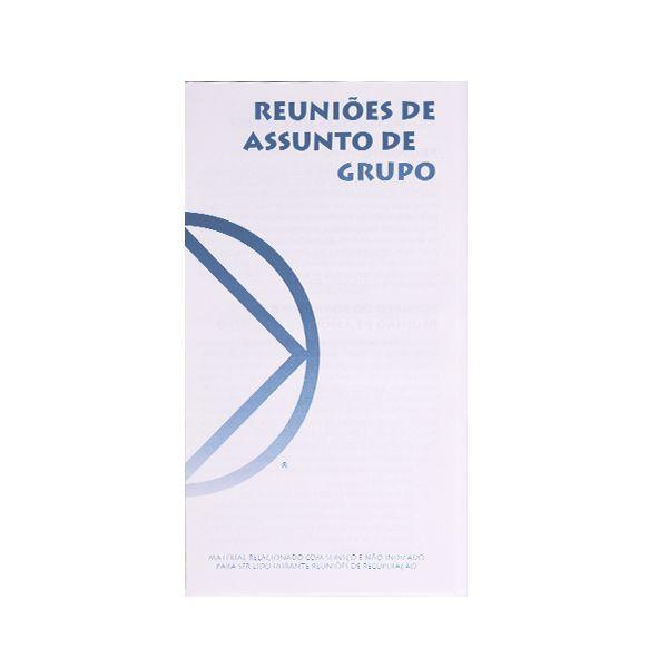 REUNIÕES DE ASSUNTO DE GRUPO PO-2202