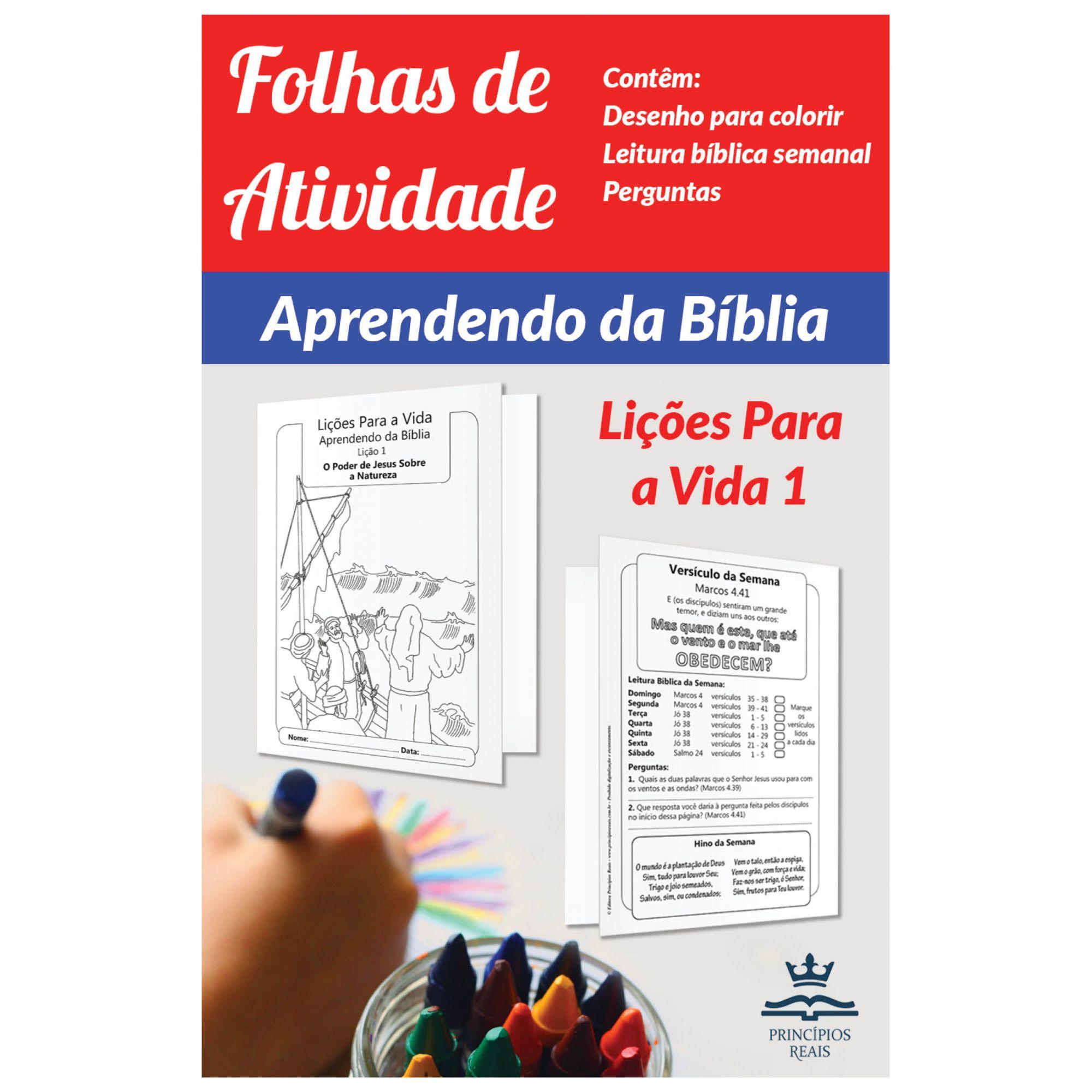 CURSO DE ESTUDO: APRENDENDO DA BÍBLIA - Volume 1