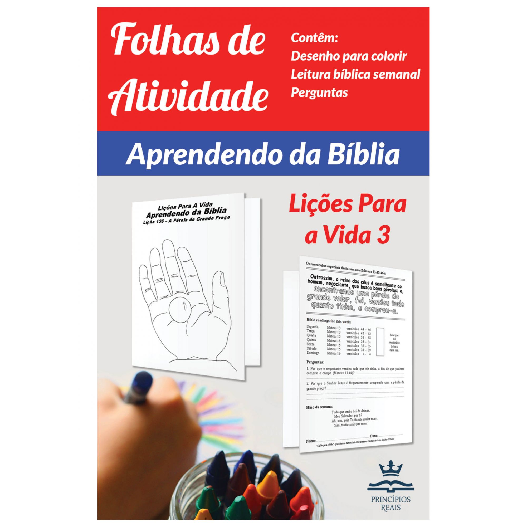CURSO DE ESTUDO: APRENDENDO DA BÍBLIA - Volume 3