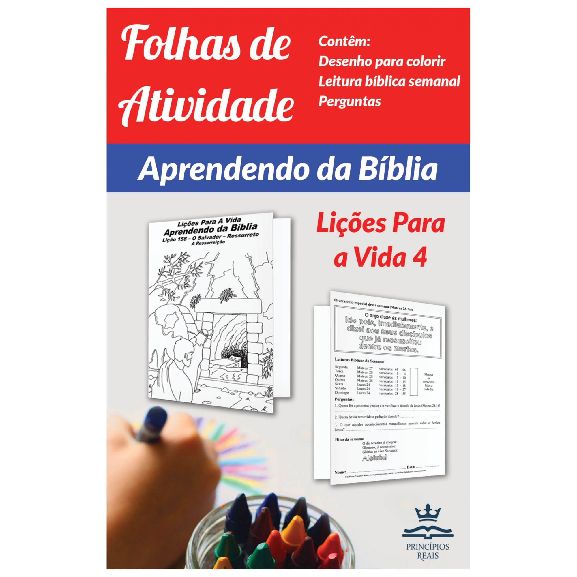 CURSO DE ESTUDO: APRENDENDO DA BÍBLIA - Volume 4