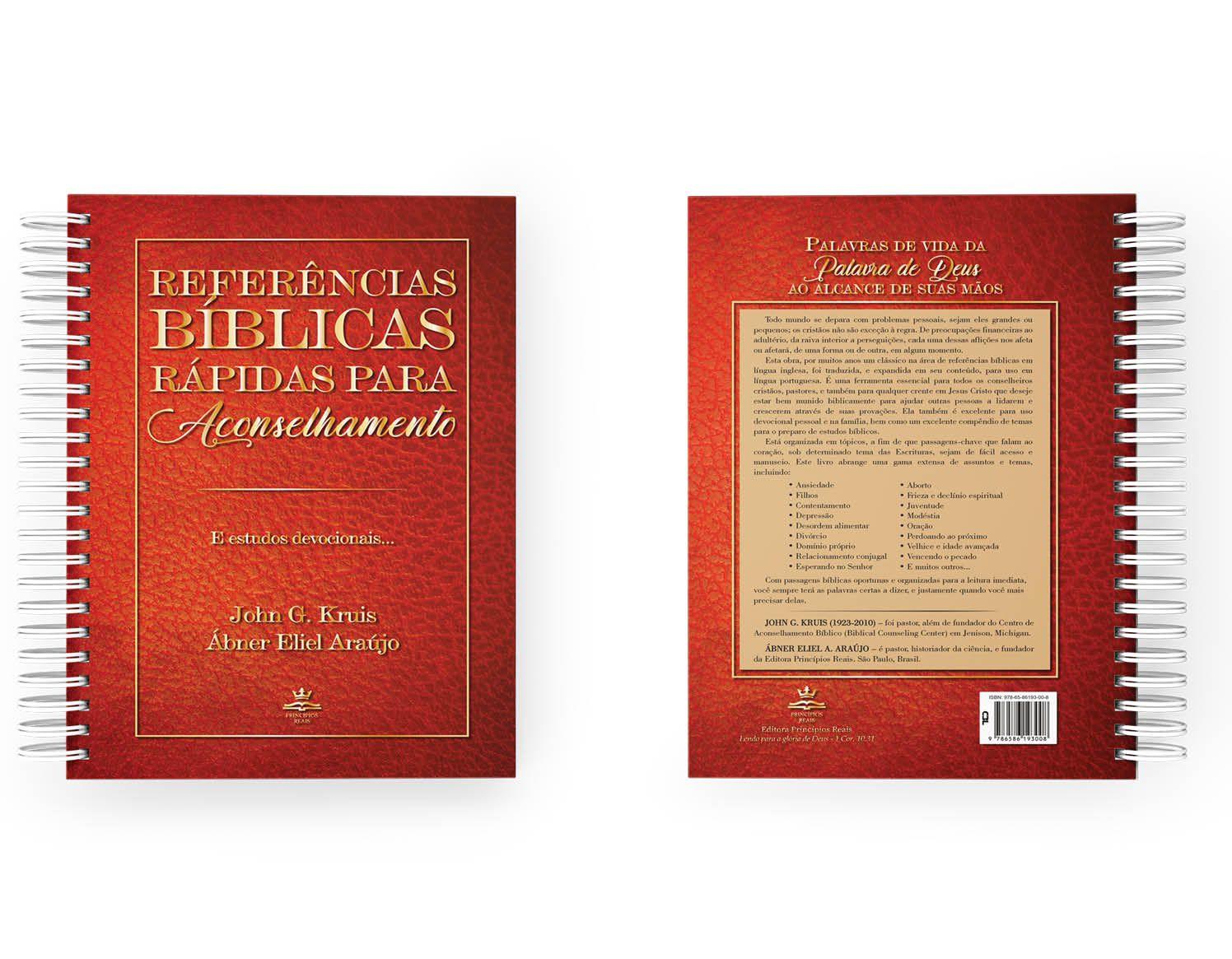 Referências bíblicas rápidas para aconselhamento