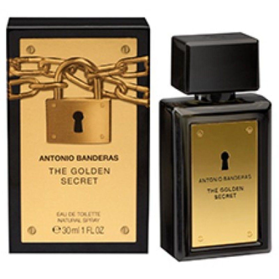 78d666dd40 The Golden Secret Antonio Banderas Perfume Masculino 30ML - ANTONIO ...