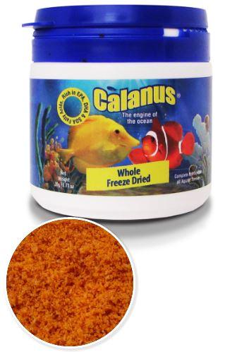 BCUK CALANUS WHOLE FREEZE DRIED 20g OBS.: Vencimento entre 01/18 e 10/18  - Aquário Estilos