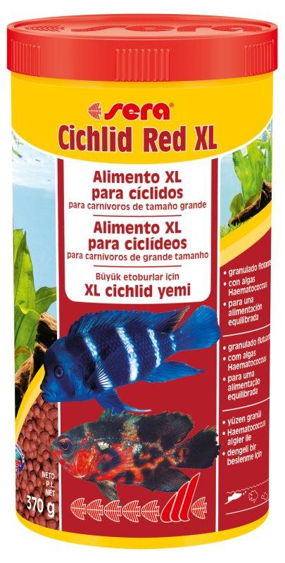 SERA Cichlid Red XL1000 ml  - Aquário Estilos