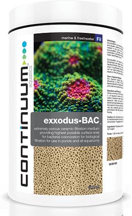 Continuum Exxodus•BAC 500mL  - Aquário Estilos