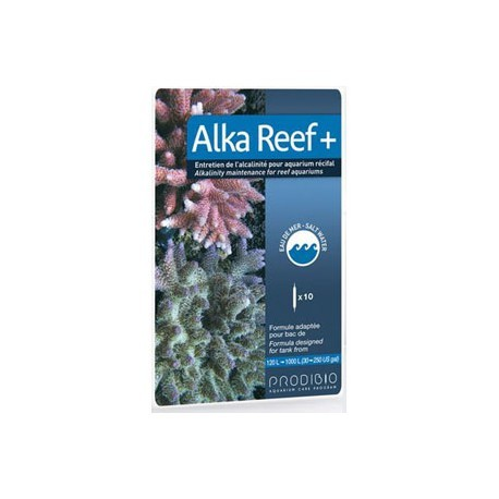 Prodibio Alka Reef + 10 ampolas  - Aquário Estilos