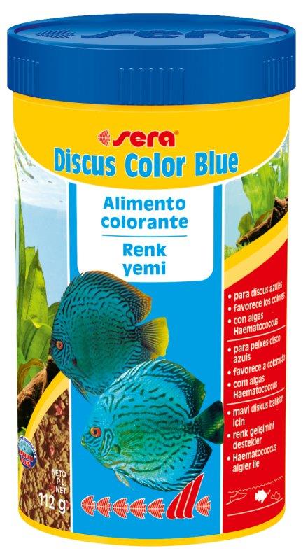 SERA Discus Color Blue 48g  - Aquário Estilos