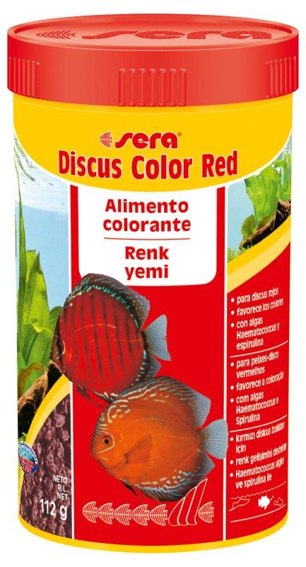 SERA Discus Color Red 48g  - Aquário Estilos