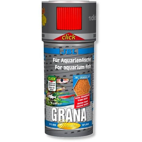 JBL Grana Granulado CLICK  - Aquário Estilos