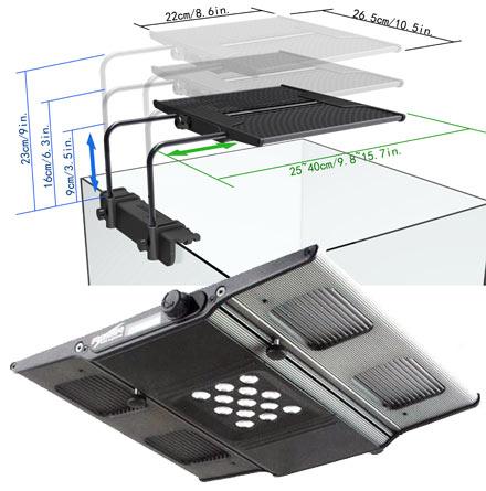 Maxspect Razor Nano 60W (8000k - 26,5cm)  - Aquário Estilos