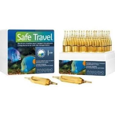 Prodibio Safe Travel - Cx 30 ampolas  - Aquário Estilos