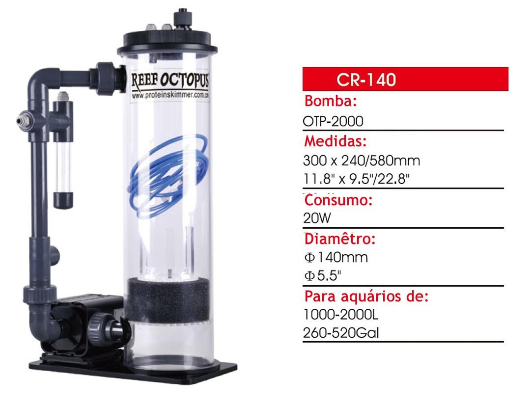 Reator de Cálcio CR-140  - Aquário Estilos