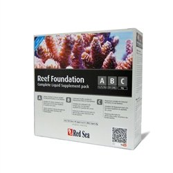 RedSea Reef Foundation ABC + 1Kg  - Aquário Estilos