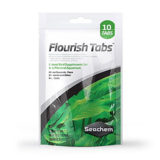 Seachem Flourish Tabs ™ 10 Tabs  - Aquário Estilos